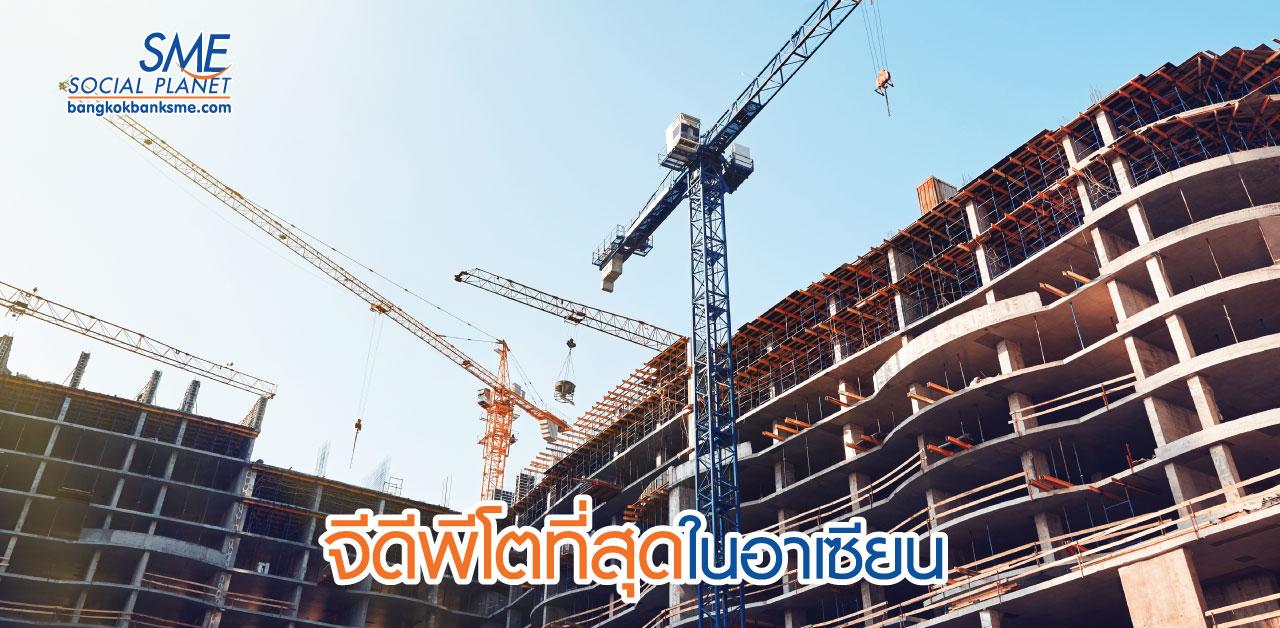 อุตสาหกรรมก่อสร้างกัมพูชายังคงสดใส