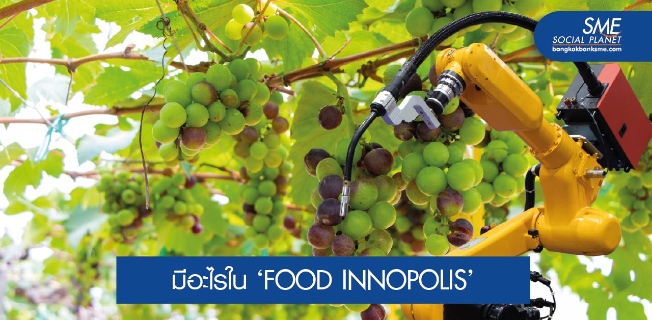 FOOD INNOPOLIS จิ๊กซอว์สู่มหาอำนาจด้านอาหารของโลก