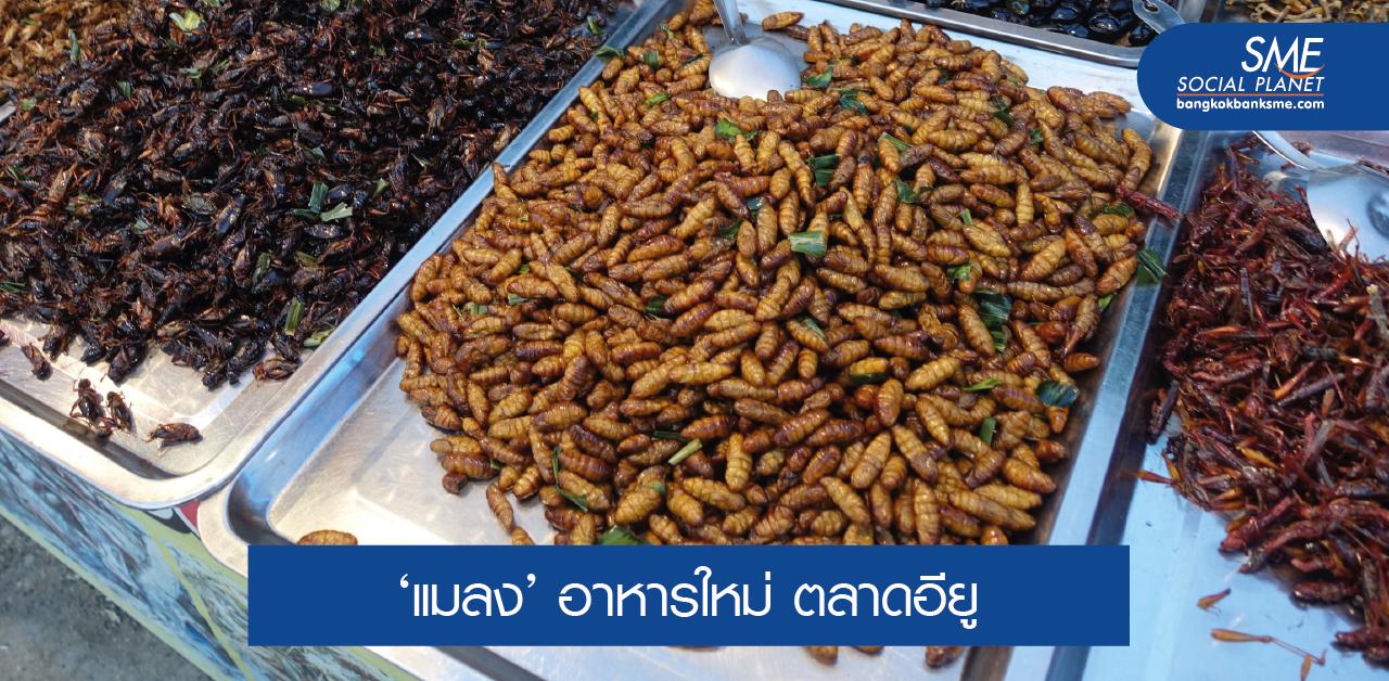 อียูปลดล็อก Novel Foods – การบริโภคแมลง