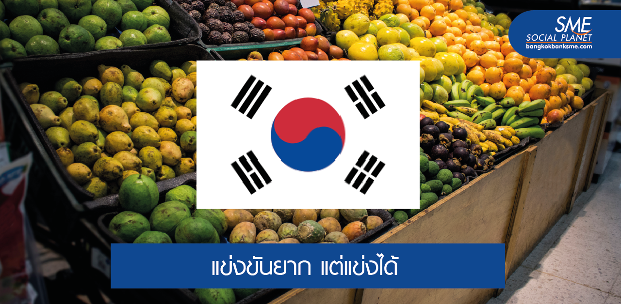 ส่องตลาดส่งออกผลไม้ในเกาหลีใต้