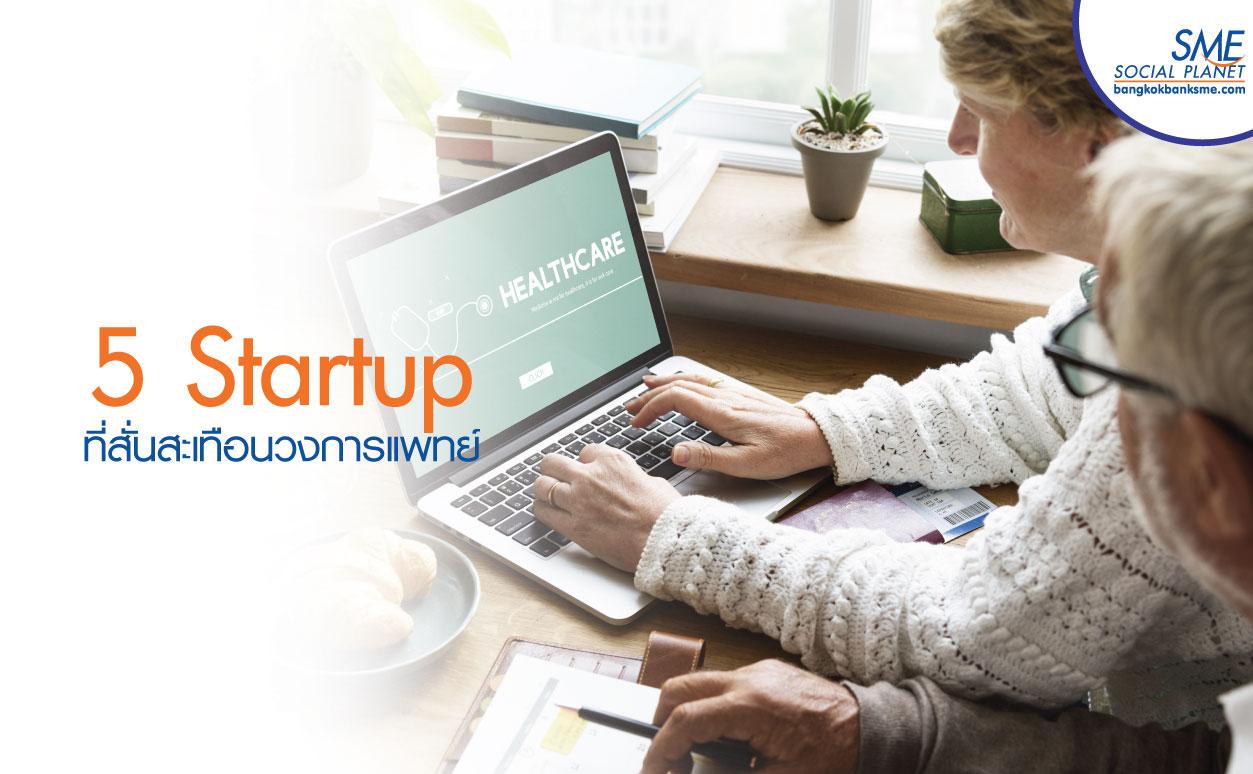 Startup ด้าน Health Care ระดับโลกที่น่าจับตาในปี 2019